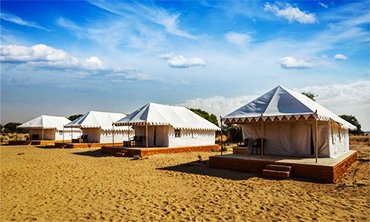 Desert camp in Jaisalmer, luxury Desert tents in jaisalmer